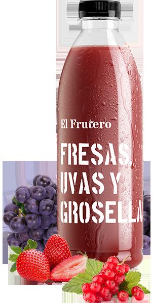Fresas, Uvas, y Grosella 1L